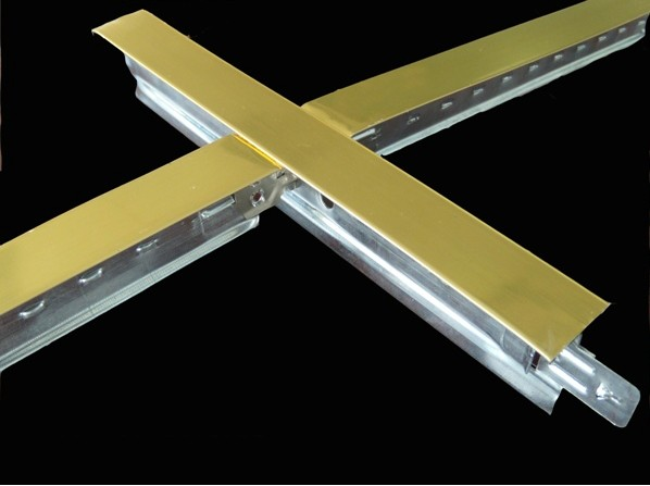 Ceiling Tee Bar SC-38(golden color)